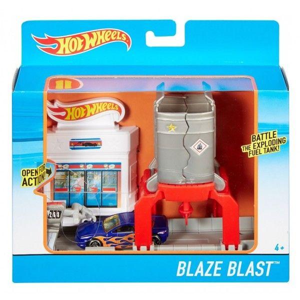 Hot Wheels Set Blaze Blast
