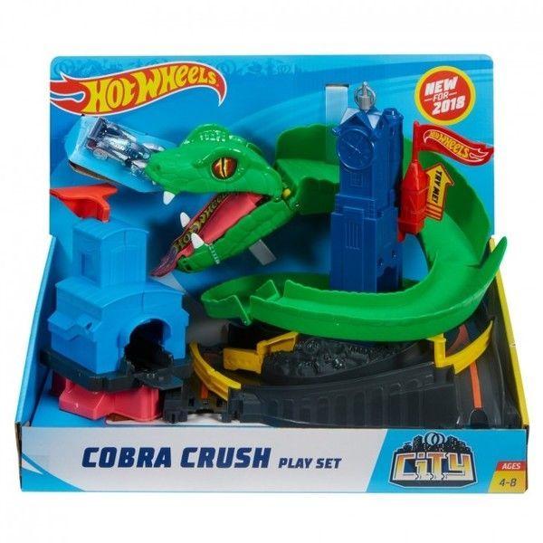 "Hot Wheels Set ""Cobra Crush"""