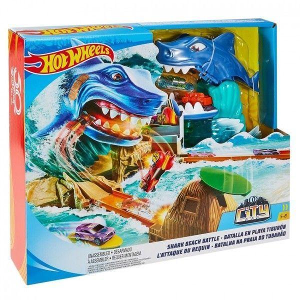 """Hot Wheels Set """"Shark Beach Battle"""""""