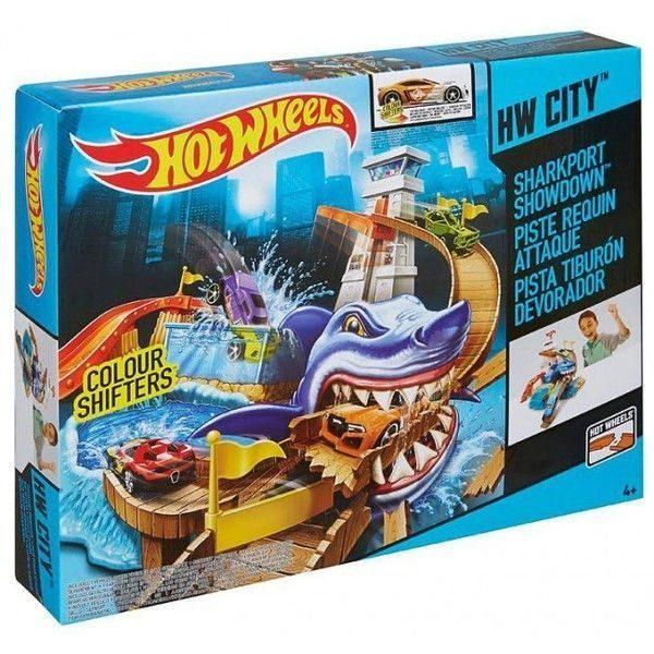 """Hot Wheels Track """"Vinatoarea de rechini"""""""