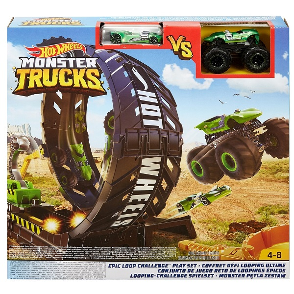 "Hot Wheels ""Monster Trucks"" Set ""Epic Loop Challenge"""
