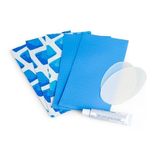 Kit de reparații pentru piscine. albastru