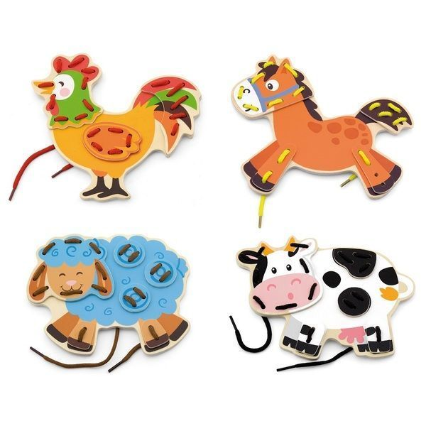 Lacing Farm Animals