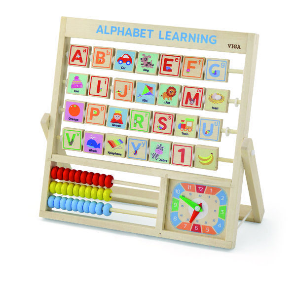 Learning Allphabet and Clock