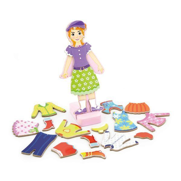 Magnetic Dress Up - Girl