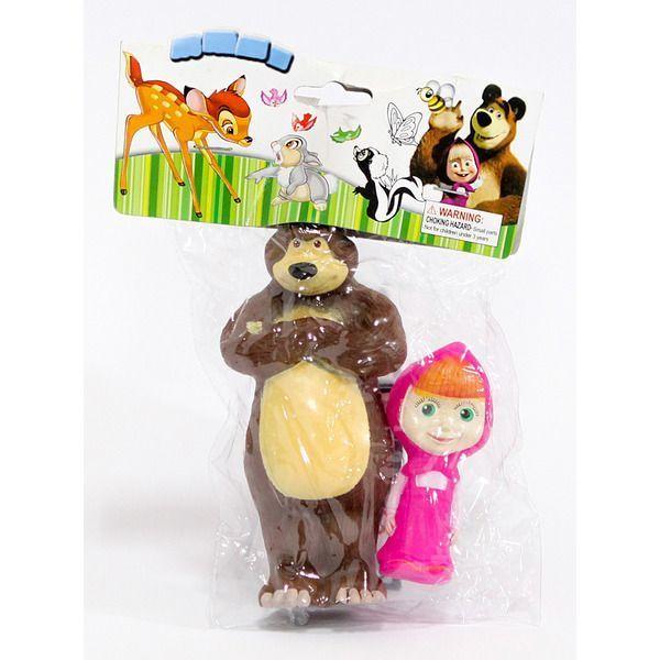 Masa si Ursul (cauciuc/pachet)