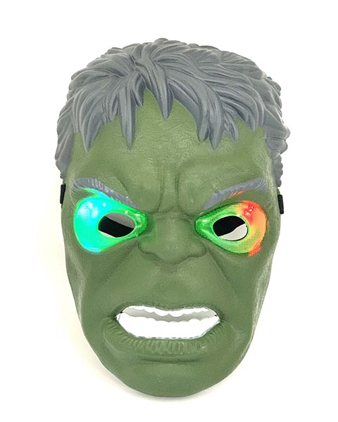 Masca pentru copii HULK (cu iluminare)