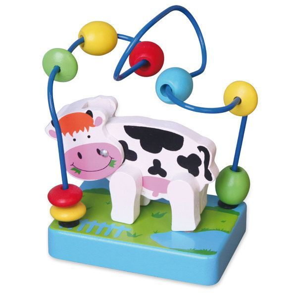 Mini Wire Beads - Cow