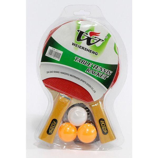 Palete Ping-Pong (set 2 + 3mingi)