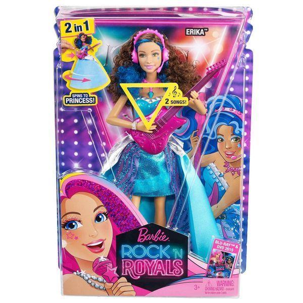 "Papusa Barbie ""Erica Rock Printesa"" (rom)"