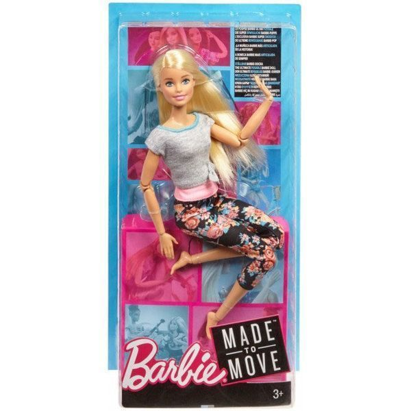 "Papusa Barbie ""Made to Move"""