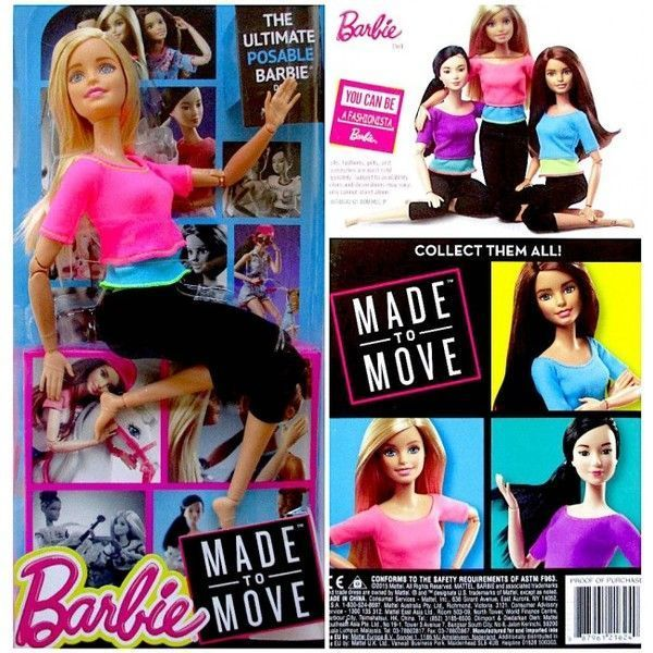 "Papusa Barbie ""Made to Move"" as. (4)"
