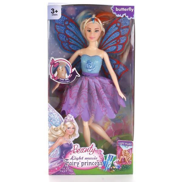 Papusa Beauty Fairy Princess (lumina/sunet)