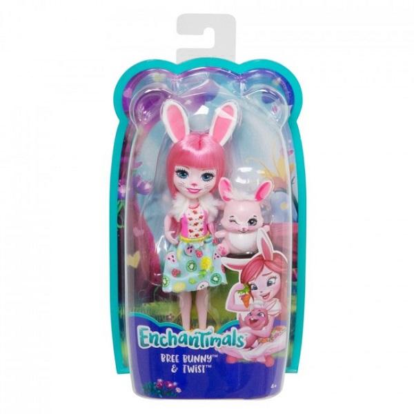 "Papusa Enchantimals ""Bree Bunny"" new"
