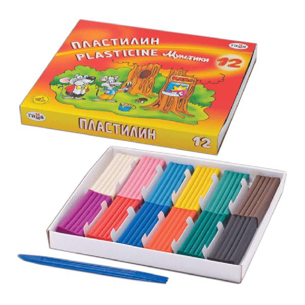Plastilina desene animate 12 culori