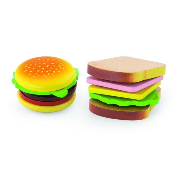 Playing food - Hamburger & Sandwich
