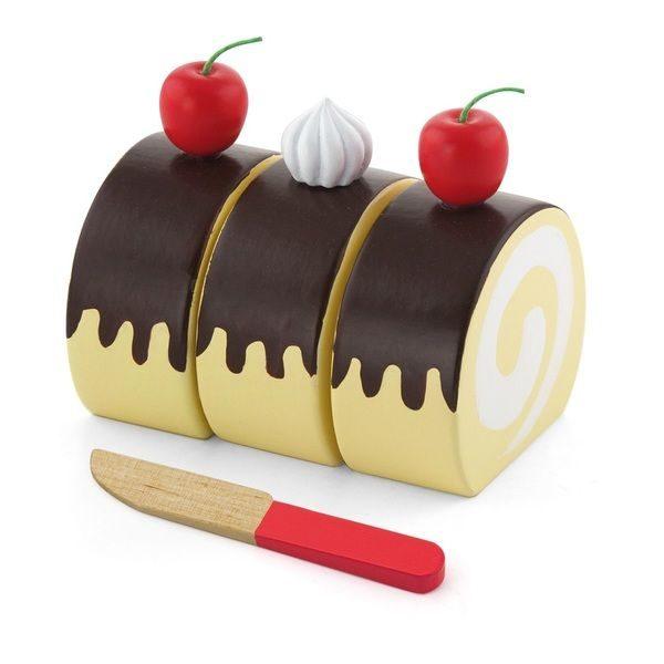 Playing food - Swiss Roll