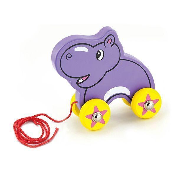 Pull Along Hippo