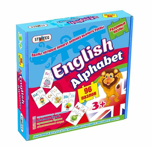 Puzzle ENGLISH ALPHABET