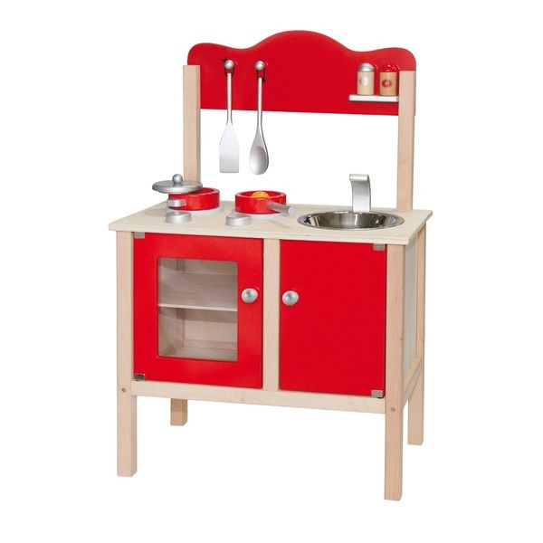 Red Kitchen w/Accessories