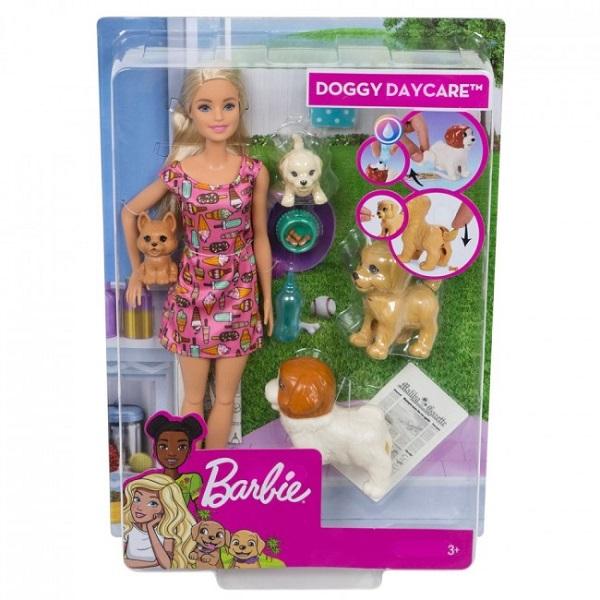 "Set Barbie ""Doggy Daycare"""