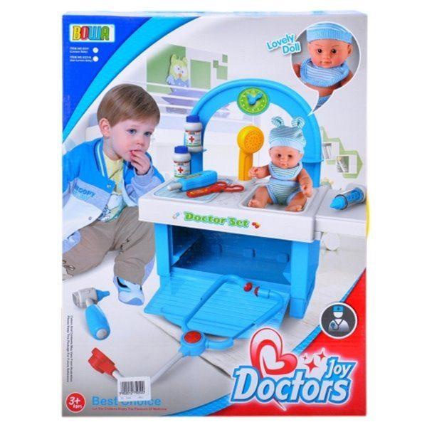 Set Doctor cu copil (18 elemente)