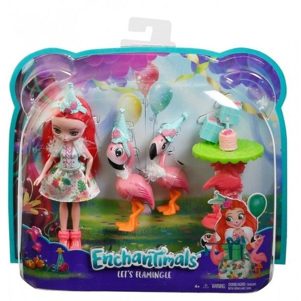 "Set Enchantimals ""Let's Flamingle"" as. (3)"