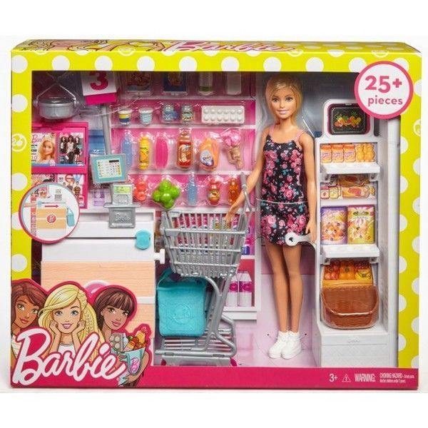 "Set Papusa Barbie ""Supermarket"""