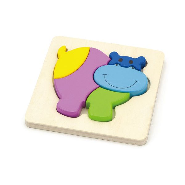 Shape Block Puzzle - Hippo