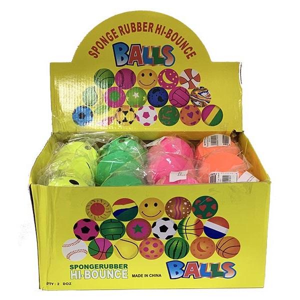 Sponge Rubber Balls 7 cm