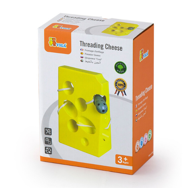 Threading Cheese