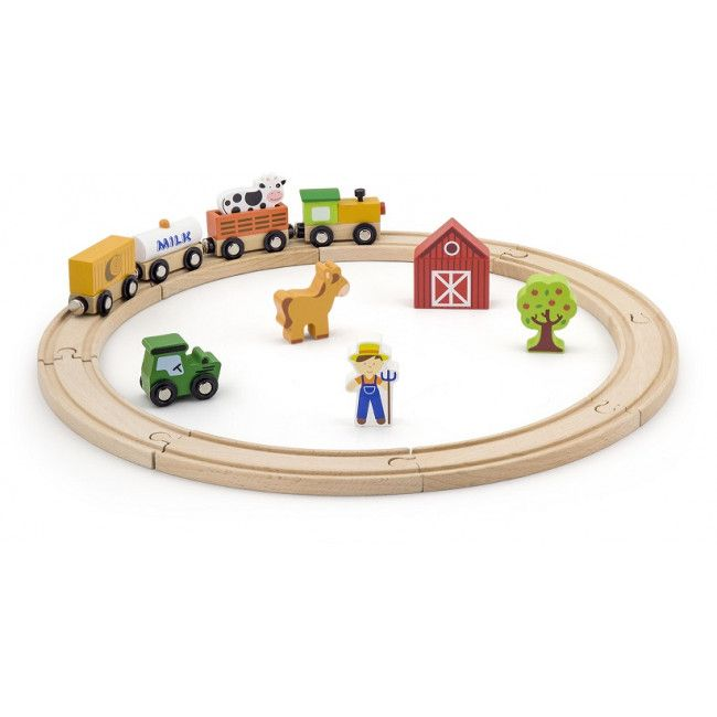 Train Play Set (20 pcs)