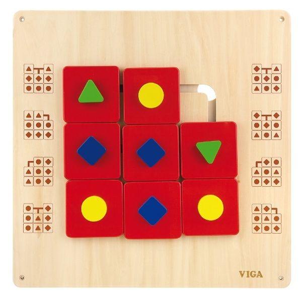 Wall Toy-Shape Maze