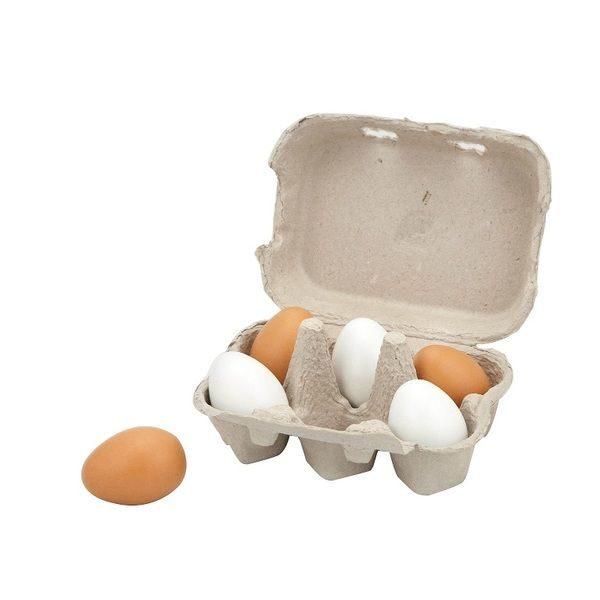 Wooden Eggs (6pcs)