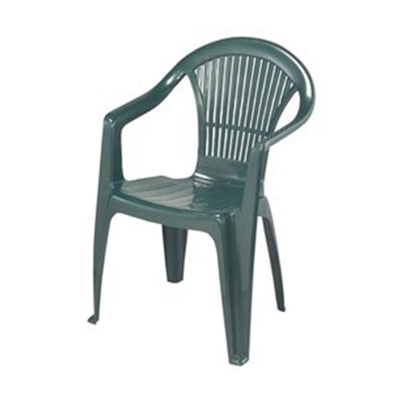 Scaun din plastic pentru terasa 56X54X82cm, verde