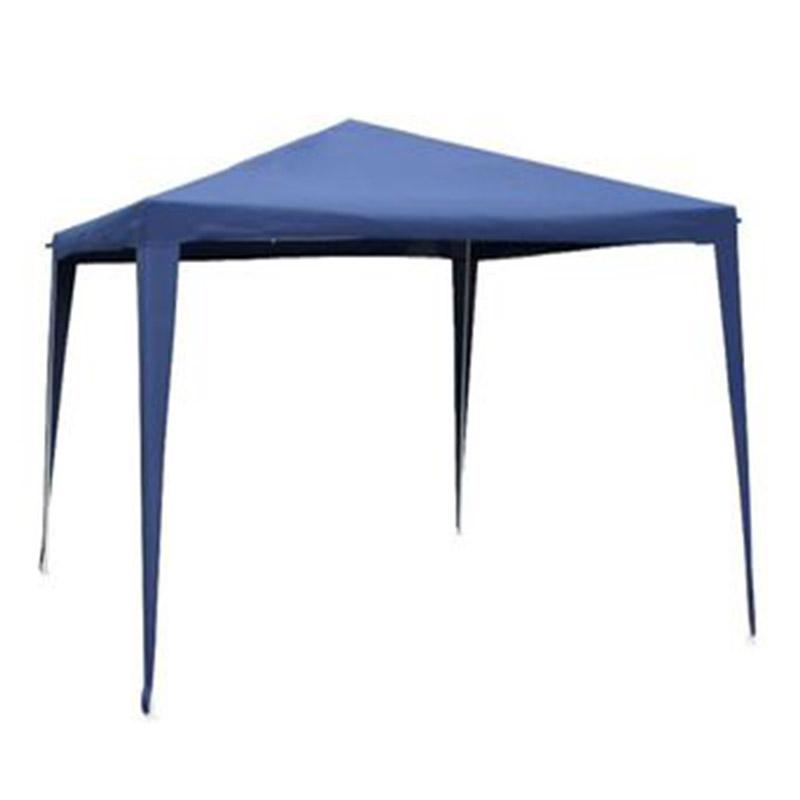 Baldachin 2.9X2.9X2.5m, verde/albastru/negru