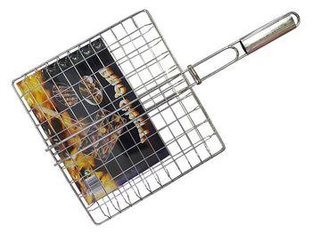 Plasa pentru gril BBQ 30X33cm, metal