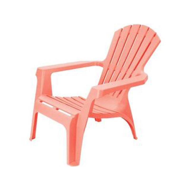 Scaun pentru terasa din plastic 85X74X87cm rosu