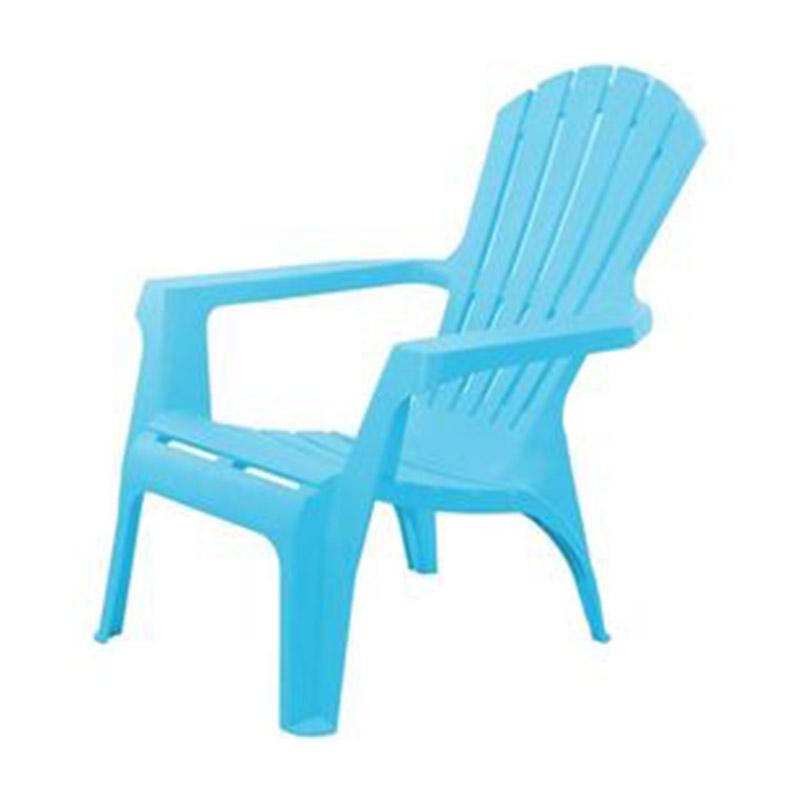 Scaun pentru terasa din plastic 85X74X87cm, albastru