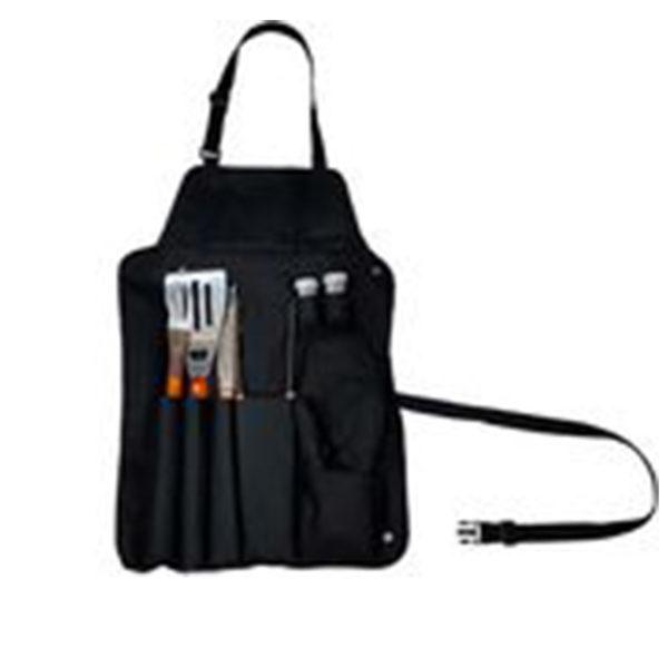 Instrumente pentru gratar 7 buc si sort 42X61cm